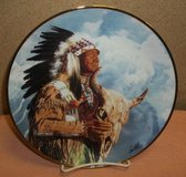Hear Me Great Spirit Collectible Plate in Clarksville, Tennessee