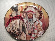 Chief of the Piegon Blackfoot Collectible Plate in Clarksville, Tennessee