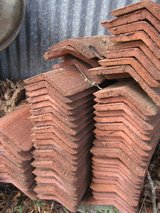 OLD Red Roof Clay Tiles in Baytown, Texas
