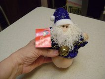 Santa Jingle Bell Ornament in Kingwood, Texas