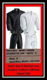 Adult Martial Arts Student Uniform in Lawton, Oklahoma