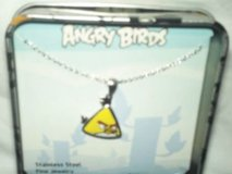 new Angry Birds Fine Jewelry Stainless Steel Yellow Bird necklace in collectible gift tin in Fort Campbell, Kentucky