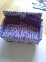 Purple Barbie couch in Vacaville, California