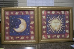 Sun and Moon Wall Art in Fort Campbell, Kentucky