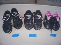 girl soccer shoes-size 9 and 1.5 in Wilmington, North Carolina
