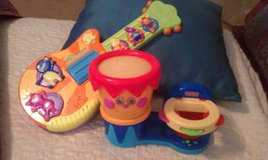 Backyardigans guitar & drum tambourine in Fort Hood, Texas