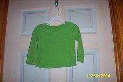 Girls 18 mos. Green blouse (the Children's Place) in Moody AFB, Georgia