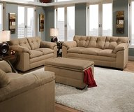 New Simmons 2pc Sofa and Loveseat in Beaufort, South Carolina