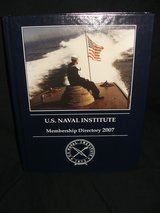 U.S. Naval Institute Membership Directory 2007 in St. Charles, Illinois