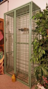 Rare Very Big Locking Wine Rack Keep Your Wine Safe and Secure in Ramstein, Germany