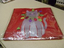 Christmas Fabric Cat Tote  - New Sealed Pkg in Kingwood, Texas