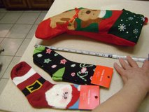 Ladies Christmas Novelty Socks NWT - (Puppy Stocking Is SOLD) in Houston, Texas