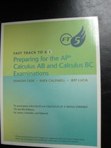 Fast Track to a 5 AP Calculus exam prep, new in Houston, Texas