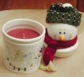 New Snowman Jar Candle in Kankakee, Illinois